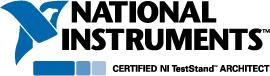 Certified NI TestStand Architect Logo